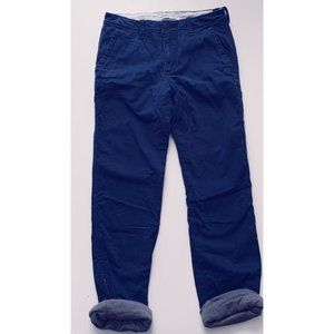 ABERCROMBIE KIDS NWT lined chinos size 16S